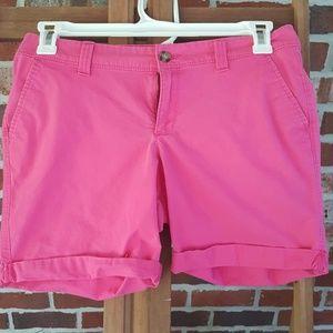 Like new, hot pink old navy shorts